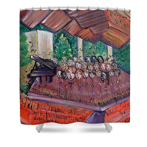 Colorado Childrens Chorale Shower Curtain
