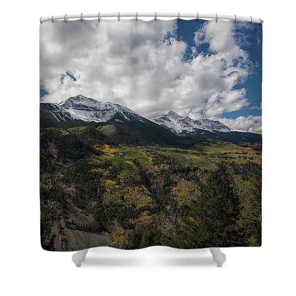 Colorado Colors Shower Curtain