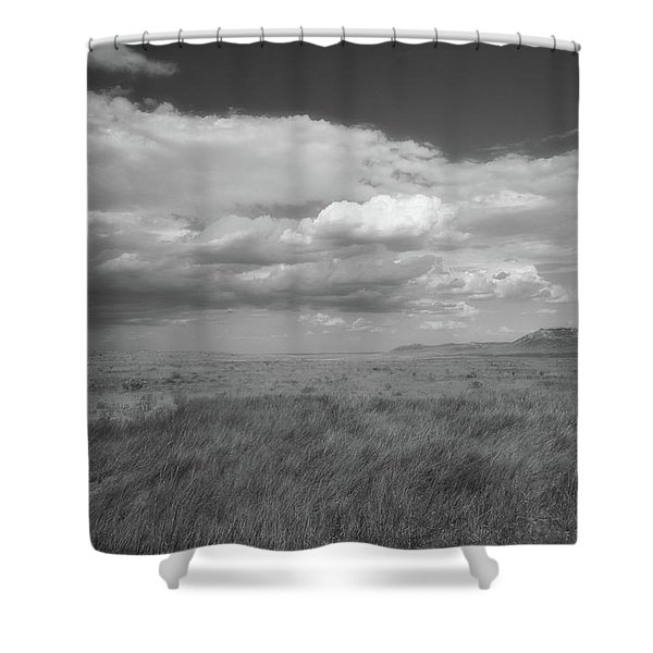 Colorado Grassland Shower Curtain