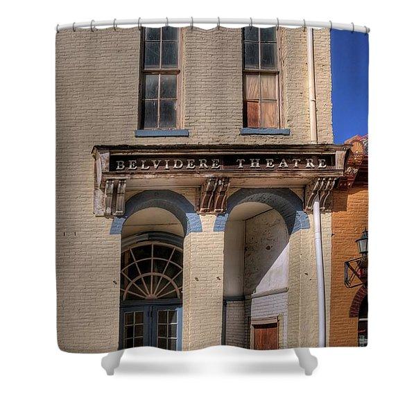 Belvidere Theatre Shower Curtain