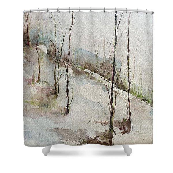 Colorado Morning Shower Curtain