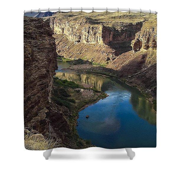 Colorado River Grand Canyon National Park Shower Curtain