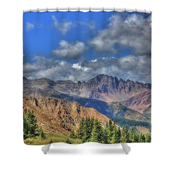 Colorado Rocky Mountains Shower Curtain