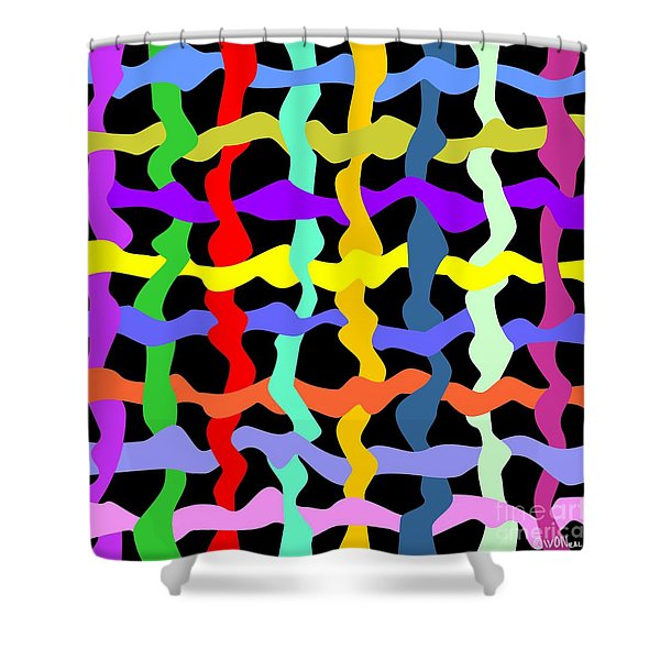 Colorfield Theory, No. 2 Shower Curtain