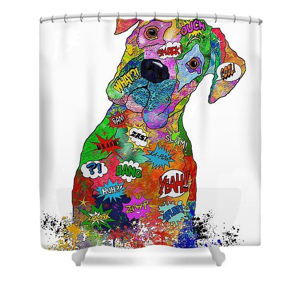 The Head Tilt. Need I Say More? Shower Curtain
