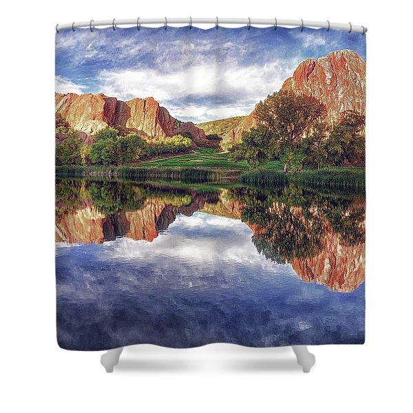 Colorful Colorado Shower Curtain