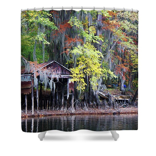 Colorful Drought Shower Curtain