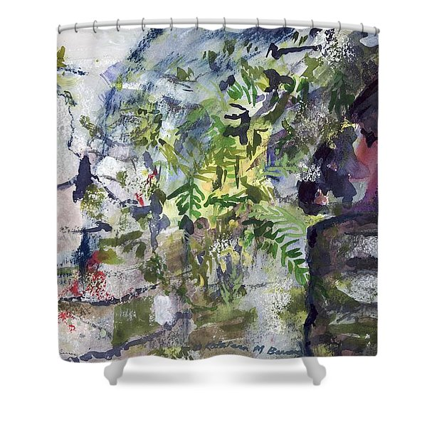 Colorful Foliage Shower Curtain