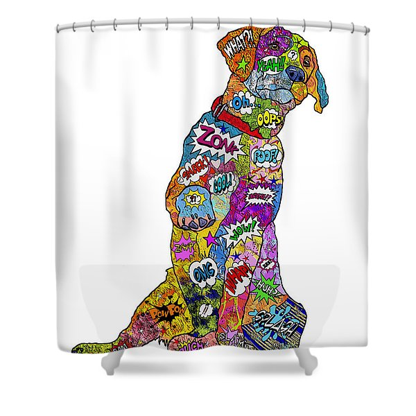 Labradorable Shower Curtain