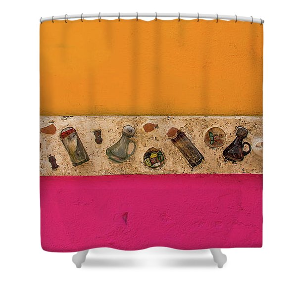 Colorful Mexico  Mexican Art By Kaylyn Franks Shower Curtain