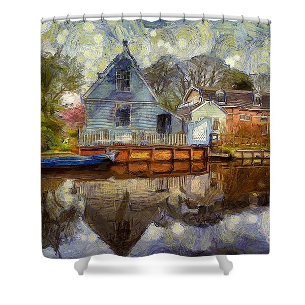 Colorful Serenity Shower Curtain