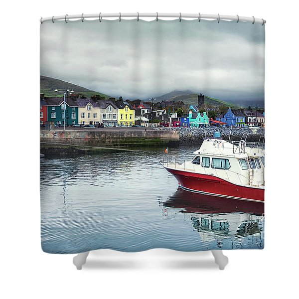 Colors Of A Cloudy Day Shower Curtain