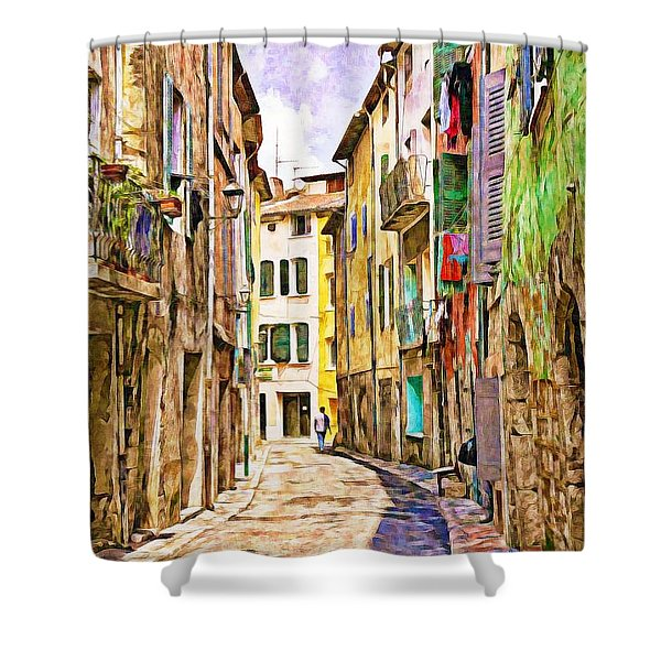 Colors Of Provence, France Shower Curtain