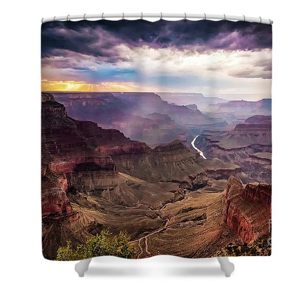 Colors Of The Canyon Shower Curtain