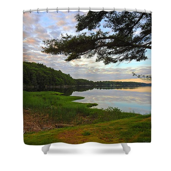 Colors Of The River Shower Curtain