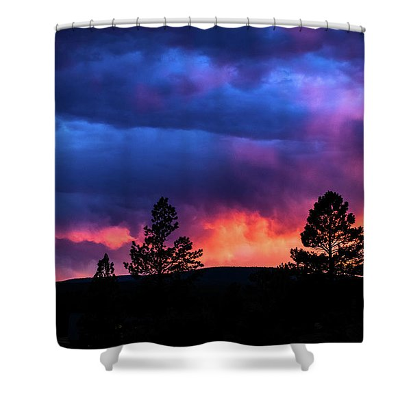 Colors Of The Spirit Shower Curtain