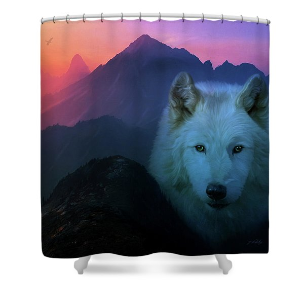 Colors Of The Spirit - Nature Series Shower Curtain