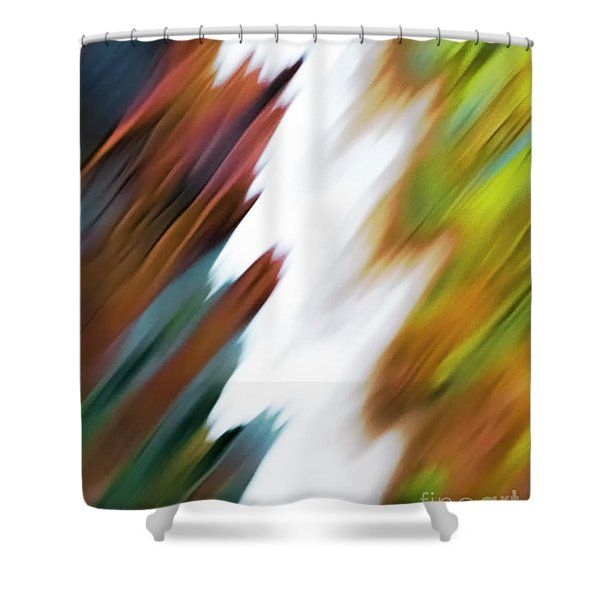 Colors Of Water Shower Curtain