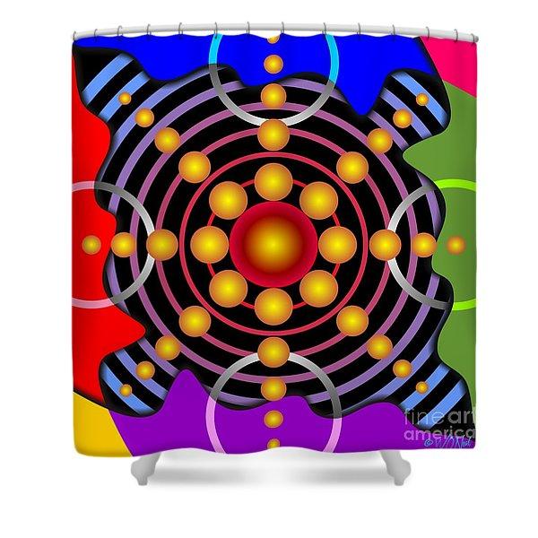 Colorscape 1-8 Shower Curtain