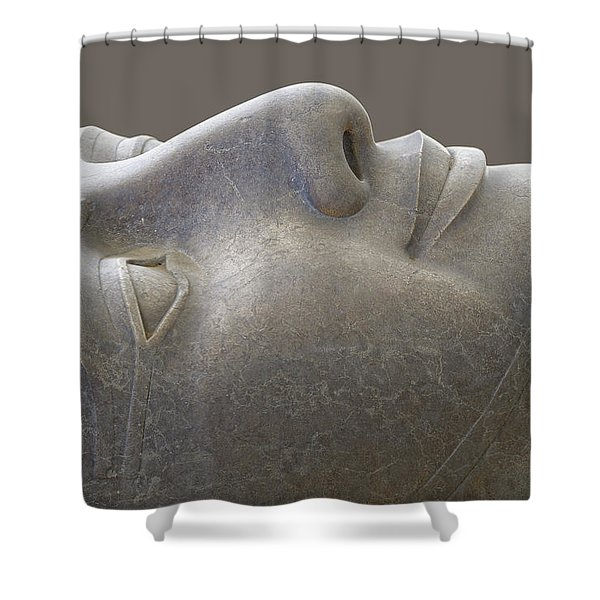 Colossal Smile Shower Curtain