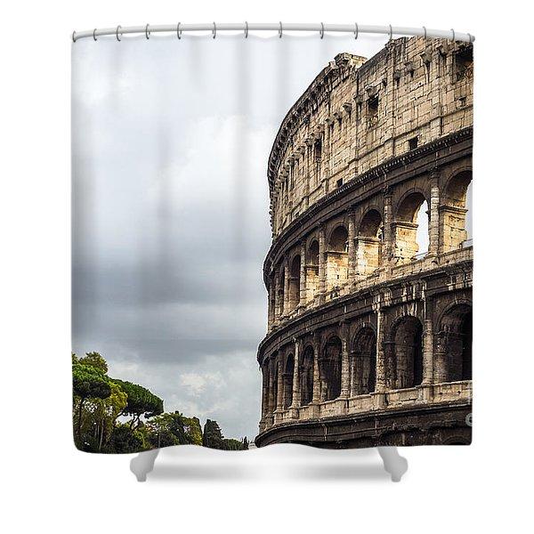 Colosseum Closeup Shower Curtain