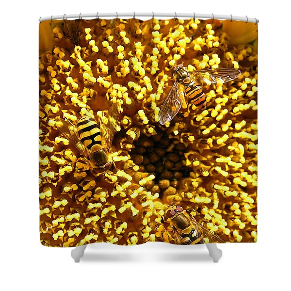 Colour Of Honey Shower Curtain