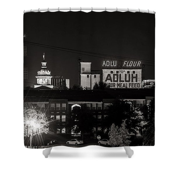 Columbia Skyline Shower Curtain