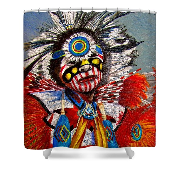 Comanche Dance Shower Curtain