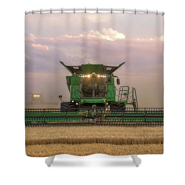 Combine Head On Shower Curtain