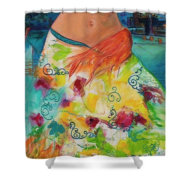Combustible Shower Curtain