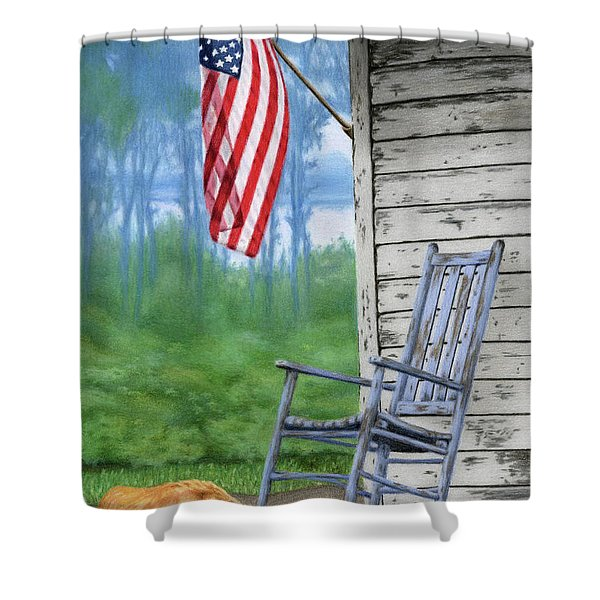 Come Home Shower Curtain