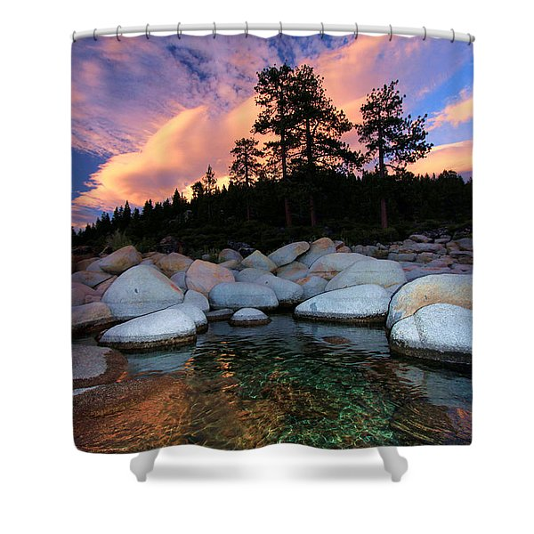 Come Into My World Shower Curtain