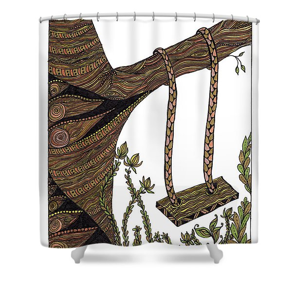 Come Out And Play Shower Curtain