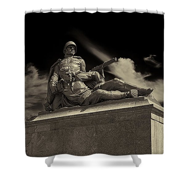 Come With Me If You Want To Live Shower Curtain