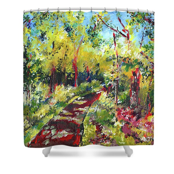Come With Me Shower Curtain