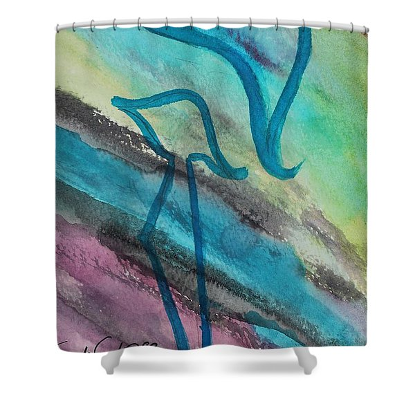 Comely Kuf Shower Curtain