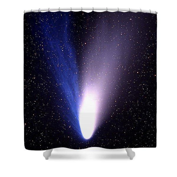 Comet Hale-bopp Shower Curtain