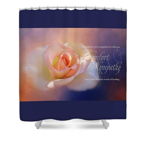 Comfort And Sympathy Shower Curtain