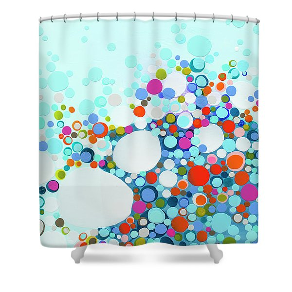 Comfortable In Chaos Shower Curtain