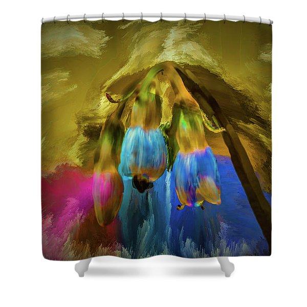 Comfrey Paint #h8 Shower Curtain