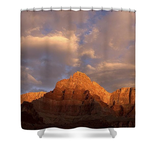 Commanche Point  Grand Canyon National Park Shower Curtain