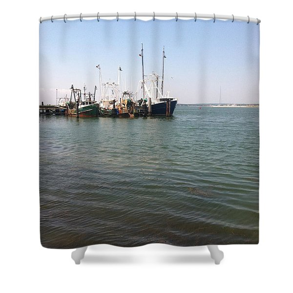 Commercial Fishing Boats Shower Curtain