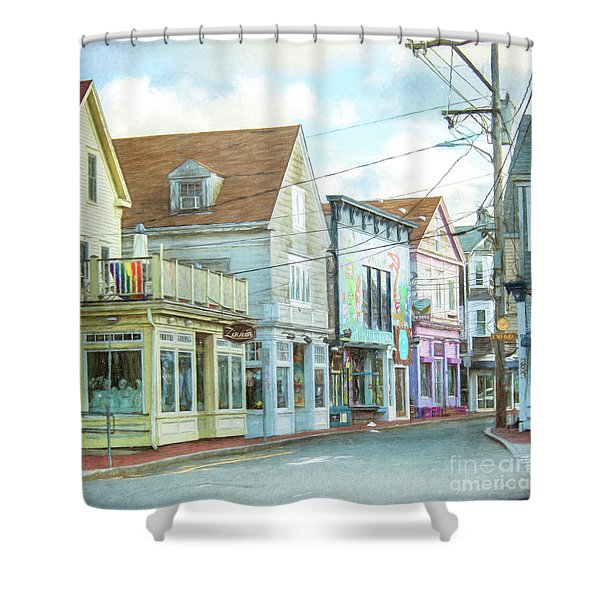 Commercial St #1 Shower Curtain