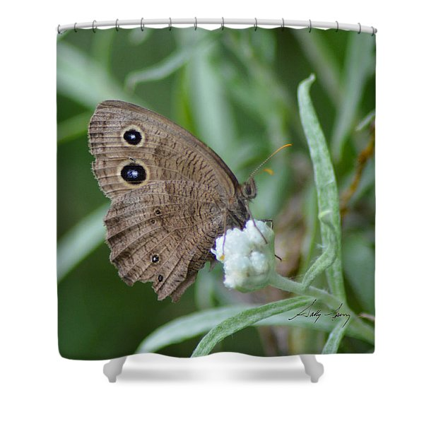 Common Wood Nymph Shower Curtain