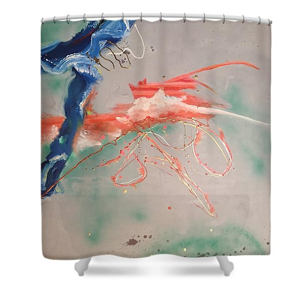 Commotion Shower Curtain