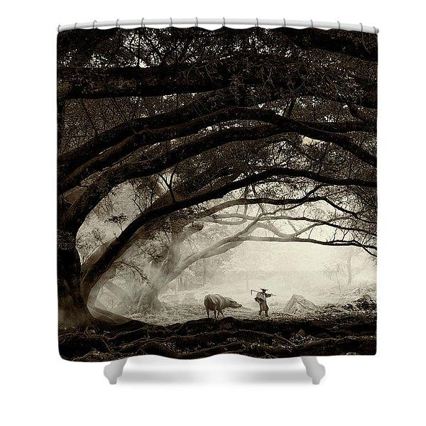 Companionship Shower Curtain