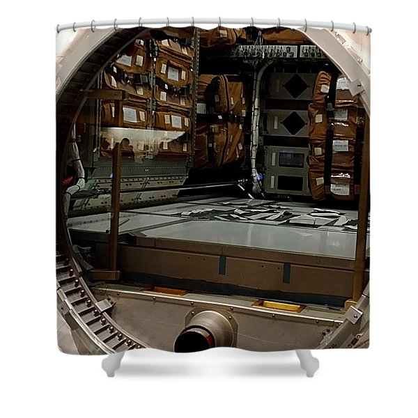Compartment Shower Curtain