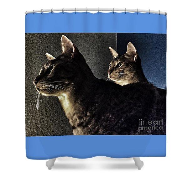 Companions Shower Curtain