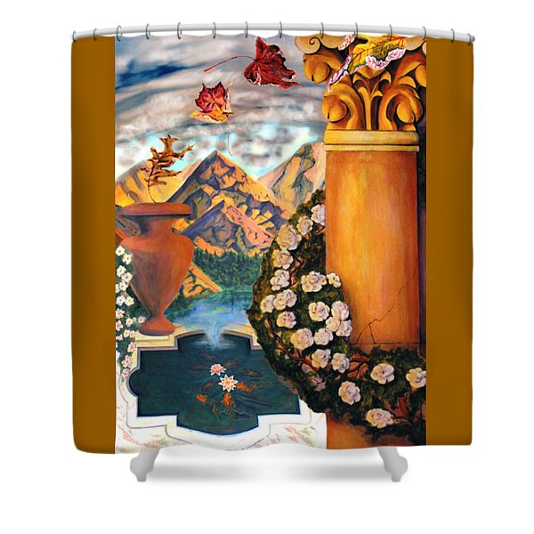 Composite Shower Curtain
