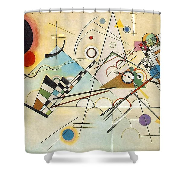 Composition Viii Shower Curtain